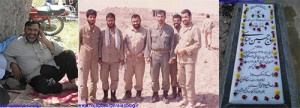 جانباز پاسدار حاج حسین عباسی